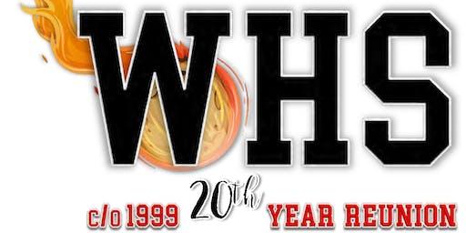 Westchester High School  c/o 1999's 20th Year Reunion