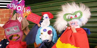 EVOLVE - Hand Puppets Workshop (4-6yrs)