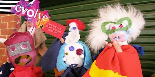 EVOLVE - Hand Puppets Workshop (4-6yrs)