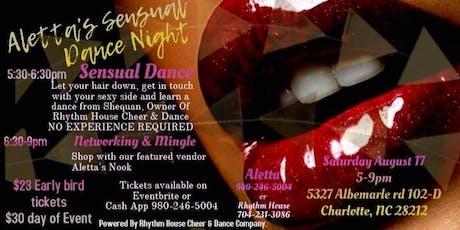 Aletta's Sensual Dance Night tickets