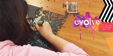 EVOLVE - Introduction into Paper Cutting Workshop tickets