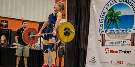2019 Florida Weightlifting Federation - Spectator & Coaches Tickets tickets