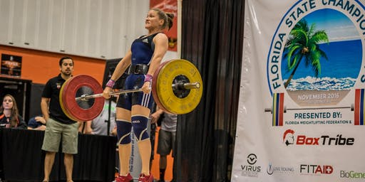 2019 Florida Weightlifting Federation - Spectator & Coaches Tickets