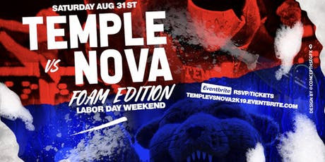Temple vs Nova | FOAM Ed. | Labor Day Wknd tickets