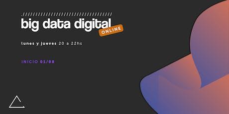 Big Data Digital (online) entradas