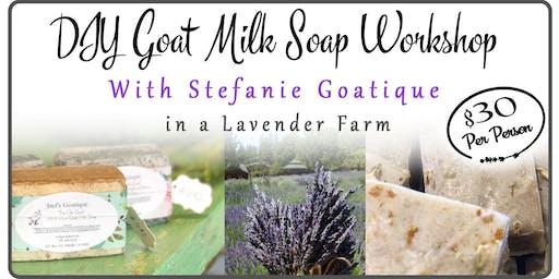 DIY Custom Goat Milk Soap 2 at a Lavender Farm With