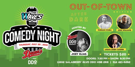 Comedy Night at Dunn's DDO: Out-of-Town Edition! tickets