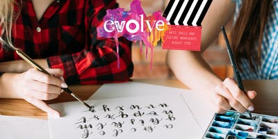 EVOLVE - Brush Lettering Workshop