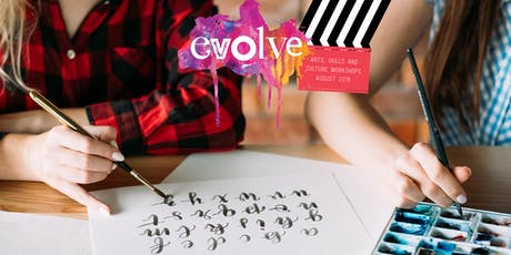 EVOLVE - Brush Lettering Workshop tickets