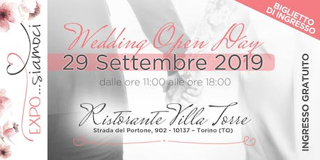 """Expo...siamoci""  Wedding Open Day tickets"