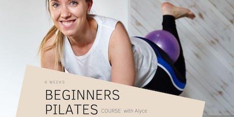 6 Week Beginners Pilates Course tickets