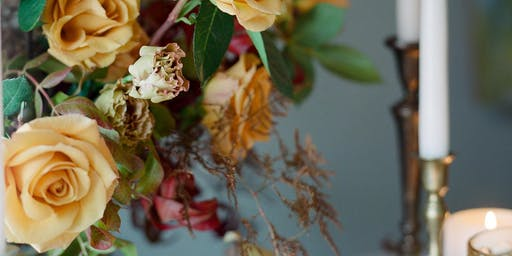 Holiday Flower Arranging and Tablescape Design Workshop