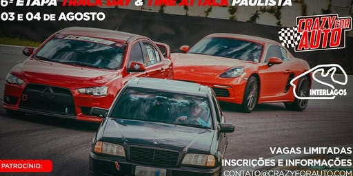 TRACK DAY & TIME ATTACK PAULISTA - ROUND 6 - INTERLAGOS (03 &04 Agosto 2019)