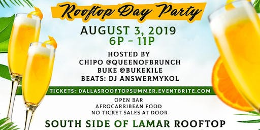 DALLAS SUMMER VIBES ROOFTOP DAY PARTY