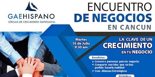 Encuentro  de Negocios    en  Cancun