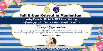 Fall Urban Retreat in Manhattan !