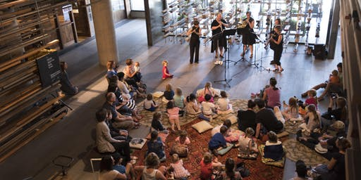 Kids Cushion Concerts: Music Around the World