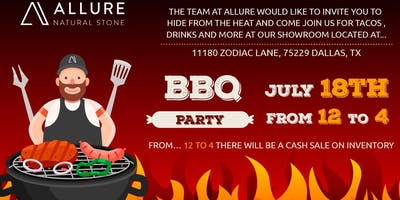 BBQ party @ Allure Natural Stone