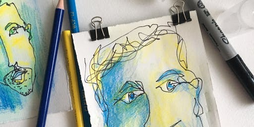 Painting and Drawing Portraits: Watercolour & Ink