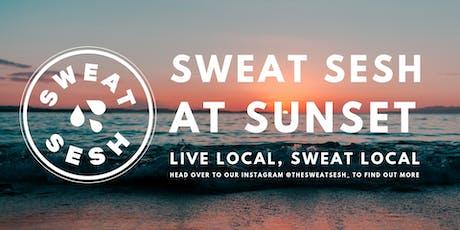 Sweat Sesh at Sunset tickets