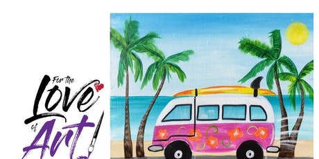 Paint and Sip Class: Vintage Camper tickets