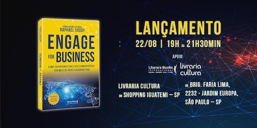 Lançamento livro ENGAGE for Business