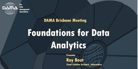 DAMA Brisbane - Foundations for Data Analytics tickets