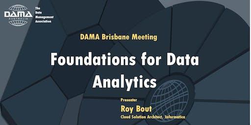 DAMA Brisbane - Foundations for Data Analytics