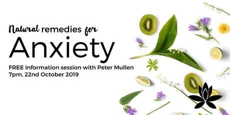 Natural Remedies for Anxiety with Peter Mullen tickets