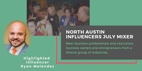 North Austin Influencers July Mixer tickets