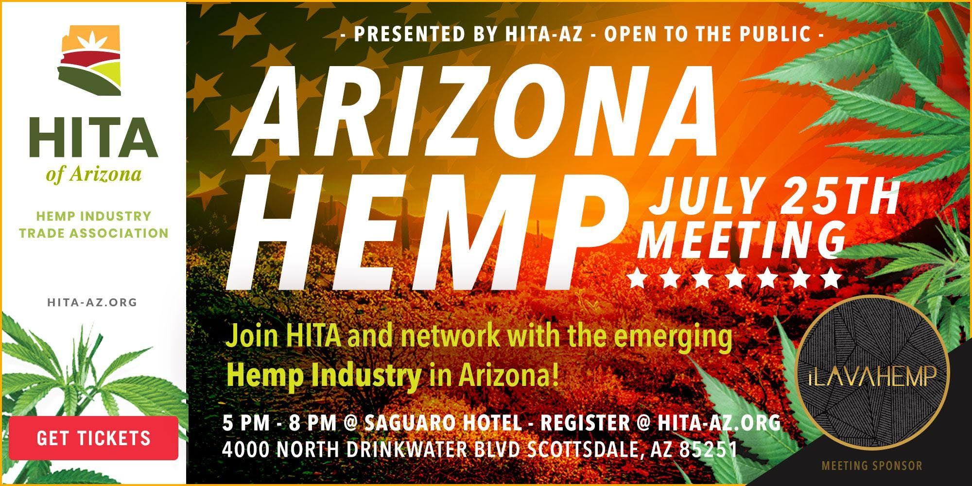 July's Hemp Industry Trade Association of Arizona Meeting