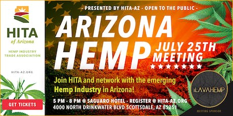 July's Hemp Industry Trade Association of Arizona Meeting  tickets