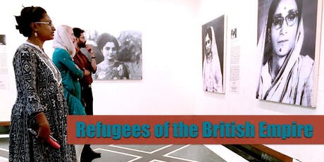 OPENING RECEPTION for 'Refugees of the British Empire' - A PopUp Museum tickets