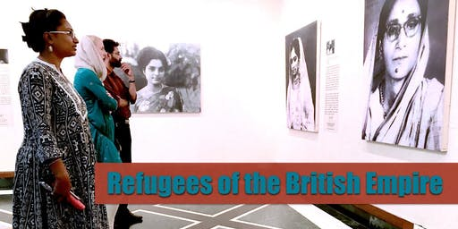 OPENING RECEPTION for 'Refugees of the British Empire' - A PopUp Museum