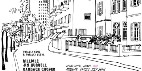 Totally Cool and Totally Legal with Candace Cooper, Jim Hubble and Bill Pile @ miniBar tickets