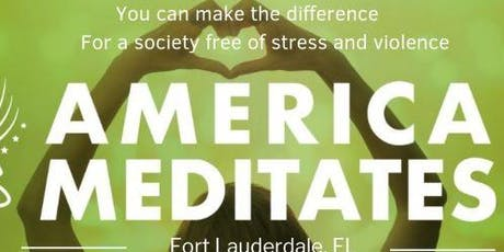 America Meditates, Fort Lauderdale tickets