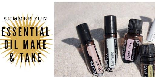 Summer Fun Essential Oil Make & Take
