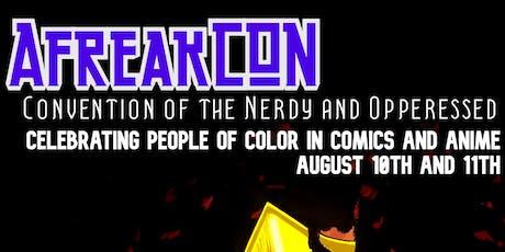 AfreakCON 2019 tickets