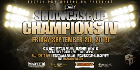 Showcase of Champions IV tickets