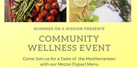 Mummies on a Mission Presents Community Wellness Event - Cooking Class tickets