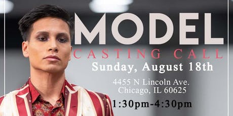 Model  Call #2 for  Chicago Fashion Week tickets