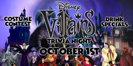 Disney Villains Trivia Event! tickets