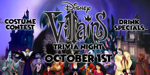 Disney Villains Trivia Event!