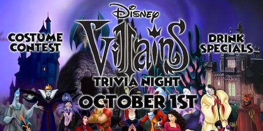 Disney Villains Trivia Event!