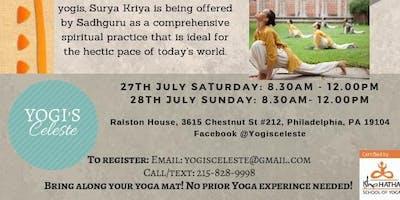 Surya Kriya: Classical Hatha Yoga Workshop