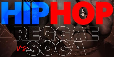 HIP HOP VS REGGAE VS SOCA AT AMADEUS NIGHTCLUB @GQEVENT  tickets