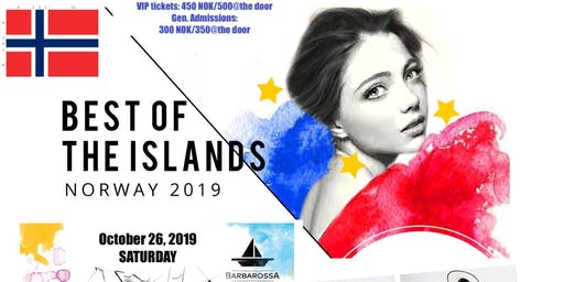 Best of the Islands 2019 - NORWAY Edition (A Fashion Show for a Cause)20% discount on ticket price UNTIL OCTOBER 26, 2019