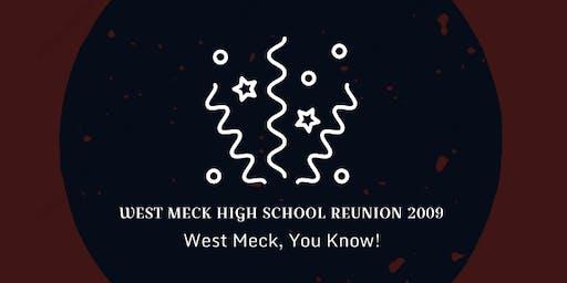 WEST MECK HIGH SCHOOL REUNION -  2009