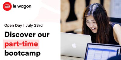 Le Wagon Open Day - Discover our part-time bootcamp