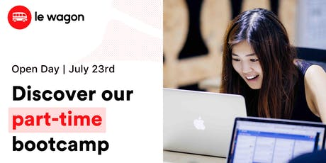 Le Wagon Open Day - Discover our part-time bootcamp tickets